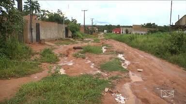 Chuva deixa ruas em Balsas em situação precária - No mês de fevereiro choveu todos os dias no sul do estado do Maranhão.