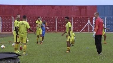 Corumbaense faz o último treino antes do confronto com o Vitória-BA, pela Copa do Brasil - Corumbaense faz o último treino antes do confronto com o Vitória-BA, pela Copa do Brasil