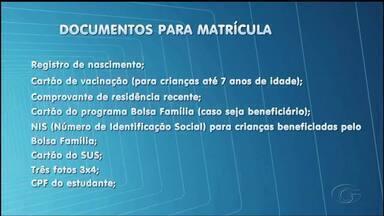 Efetivação da matrícula para alunos da rede municipal termina na sexta-feira - Pais devem ficar atentos aos documentos que devem ser levados.