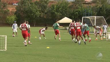 Time do Bahia volta a treinar para o BA-VI que acontece pelo Baianão neste domingo (18) - O jogo vai acontecer no estádio do Barradão, em Salvador.