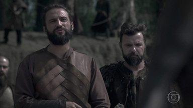 Augusto dá um prazo para Constantino libertar Catarina - Augusto diz que não irá ter acordo nenhum