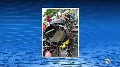 Quatro pessoas morrem em acidentes em Venturosa e Caetés - Acidentes aconteceram neste sábado (17) na BR-424