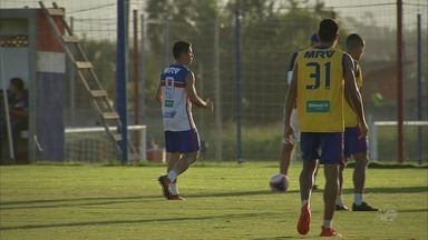 Osvaldo volta ao Fortaleza e já treina pelo clube - Confira mais notícias em G1.globo.com/ce