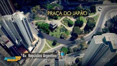 Prefeito de Curitiba escuta reclamações de moradores sobre mudanças na Praça do Japão - A prefeitura anunciou que vai fazer mudanças na região para que o Ligeirão possa circular.