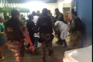 Briga entre paciente e enfermeira gera tumulto no Hospital do bairro Buenos Aires - Briga entre paciente e enfermeira gera tumulto no Hospital do bairro Buenos Aires