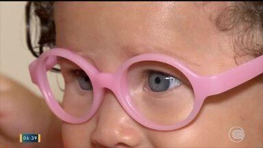 12% das crianças em idade escolar e pré-escolar precisam usar óculos - 12% das crianças em idade escolar e pré-escolar precisam usar óculos