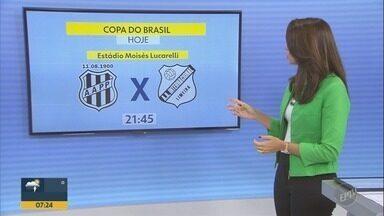 Ponte Preta e Inter de Limeira se enfrentam pela Copa do Brasil, em Campinas - Jogo acontecerá nesta quarta-feira (21), às 21h, no estádio Moisés Lucarelli.
