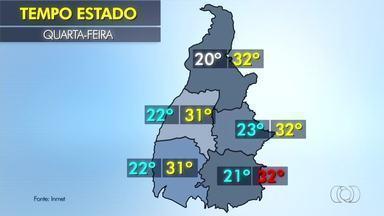 Veja como fica o tempo na sua cidade nesta quarta-feira (21) - Veja como fica o tempo na sua cidade nesta quarta-feira (21)