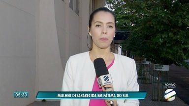 Moradora de Fátima do Sul continua desaparecida - Débora foi vista pela última vez no carnaval. Polícia Civil investiga o caso.
