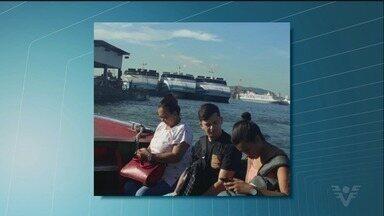 Barca de travessia de pedestres tem superlotação - Passageiros que precisaram usar as barcas entre Vicente de Carvalho e Santos sofreram com o serviço.