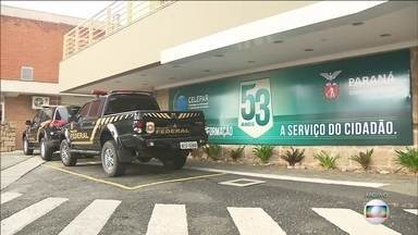 Agentes da PF cumprem mandados de prisão temporária na 48ª fase da Lava-Jato - A ação acontece em em 4 estados e o objetivo é apurar fraudes no processo de concessão de rodovias federais no Paraná.