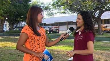 Jovens fazem ação para estimular a generosidade - A repórter Denise Gomes tem mais informações.