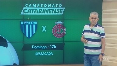 Roberto Alves comenta rodada do Campeonato Catarinense - Roberto Alves comenta rodada do Campeonato Catarinense