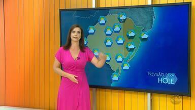 Tempo: RS deve registrar instabilidade neste domingo (25) - Veja como fica a previsão.