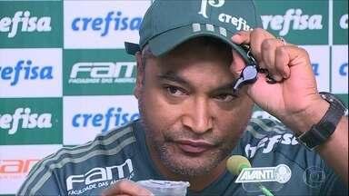 Roger Machado comanda o primeiro clássico como técnico do Palmeiras - Roger Machado comanda o primeiro clássico como técnico do Palmeiras
