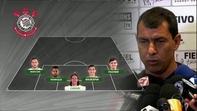 Corinthians tem mudanças para o clássico com o Palmeiras - Corinthians tem mudanças para o clássico com o Palmeiras
