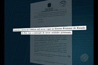 Justiça Federal obriga Governo do Pará a separar presos provisórios dos condenados - Justiça também determinou a criação de novas 3000 vagas carcerárias no estado