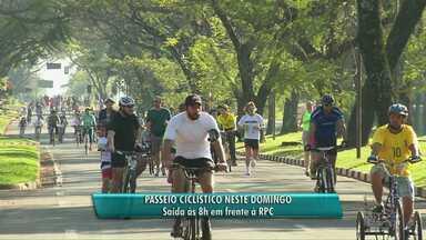 Neste domingo tem passeio ciclístico da RPC - Evento começa as 8 da manhã.