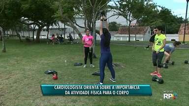 Puro Esporte: veja dicas de como aproveitar a atividade física pra cuidar da saúde - O evento da RPC segue até à meia-noite deste sábado no Parque Ambiental de Ponta Grossa.