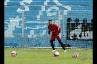 Marcão é confirmado como titular do Paysandu na temporada - Goleiro disputava vaga com Renan Rocha pela preferência na meta bicolor. Papão encara o Castanhal neste domingo, na Curuzu.