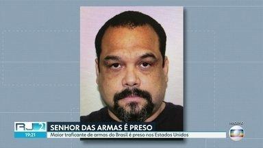 """""""Senhor das Armas"""" é preso na Flórida - Frederik Barbieri, maior traficante de armas do Brasil, vai passar por uma corte nos EUA nesta segunda-feira."""