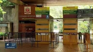 Zoológico de São Paulo já está fechado há um mês por causa do risco de febre amarela - O dinheiro dos ingressos está fazendo falta para o parque, que já perdeu R$3 milhões.