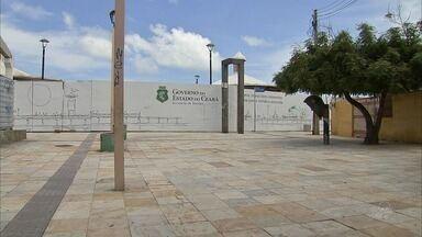 Obra que não começou impede acesso à Ponte Metálica, cartão-postal de Fortaleza - Confira mais notícias em G1.globo.com/ce