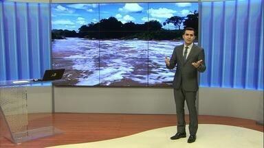 Castanhão tem ganho de água pela primeira vez após 10 meses - Confira mais notícias em G1.globo.com/ce