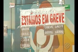 Servidores públicos de Canaã dos Carajás estão em greve há uma semana - A prefeitura diz que não tem como dar o reajuste.