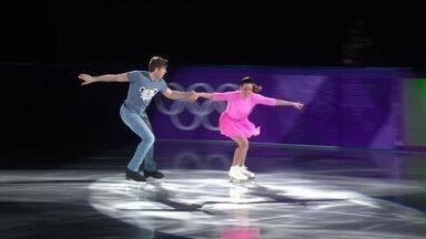 Veja apresentação de gala de dupla italiana de patinação artística