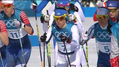 Esqui Cross-Country - 30km - Final - Feminino