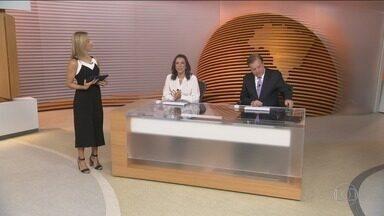 Bom Dia Brasil - Íntegra 26 Fevereiro 2018 - O telejornal, com apresentação de Chico Pinheiro e Ana Paula Araújo, exibe as primeiras notícias do dia no Brasil e no mundo e repercute os fatos mais relevantes.