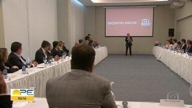 Empresários e economistas debatem as perspectivas da economia do Brasil - Evento ocorreu no Recife