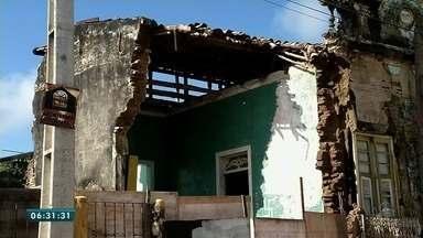 Prédios históricos se deterioram por falta de conservação em Granja - Saiba mais em g1.com.br/ce