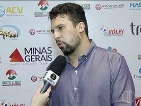 Lançamento do Sulamericano de Vôlei é realizado em Montes Claros - Gestor do Moc Vôlei fala sobre ser anfitrião e as expectativas.