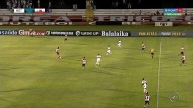 Botafogo e Linense empatam pela série A1 do Campeonato Paulista - A partida foi na casa do Botafogo, no estádio Santa Cruz. O Linense precisava da vitória mas, não conseguiu segurar o placar durante o segundo tempo e acabou levando um empate.