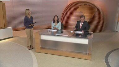 Bom Dia Brasil - Íntegra 27 Fevereiro 2018 - O telejornal, com apresentação de Chico Pinheiro e Ana Paula Araújo, exibe as primeiras notícias do dia no Brasil e no mundo e repercute os fatos mais relevantes.