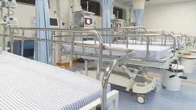 Em Ariquemes, hospital passa a contar com mais dez leitos em nova UTI. - A nova UTI começa a funcionar no dia 1º de março.