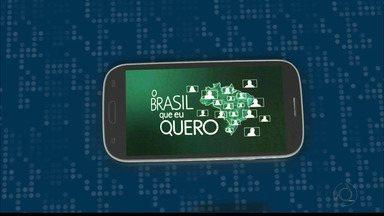 Que Brasil você quer para o futuro? Saiba como enviar o seu vídeo - Veja o passo a passo para enviar seu vídeo.