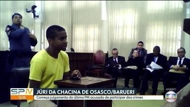 Começa julgamento de quarto e último PM acusado de participar da chacina de Osasco/Barueri - Victor Cristilder responde pela morte de oito pessoas na maior chacina do estado de São Paulo. Outros dois pms e um guarda municipal já foram condenados