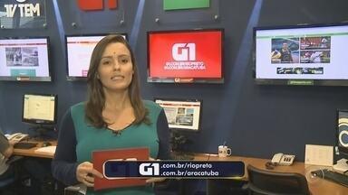 Confira os destaques do G1 Rio Preto e Araçatuba com Natália de Oliveira - Confira os destaques do G1 com Natália de Oliveira