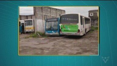 População de Mongaguá sofre com transporte público - Dos 15 ônibus da frota, 14 estavam quebrados na manhã desta terça-feira (27).