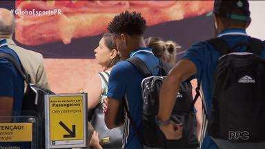 Coritiba esquece o Paranaense e volta atenções pra Copa do Brasil - Delegação do Coxa já seguiu viagem para Goiânia para a partida desta quarta-feira (28) diante do Goiás pela terceira fase da competição nacional