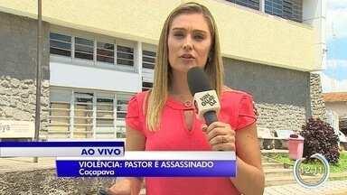 Polícia investiga morte de pastor em Caçapava - Ele foi morto a tiros.