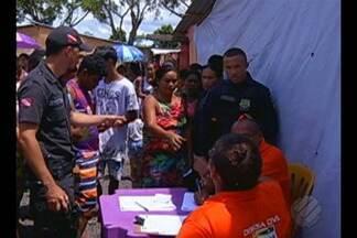Famílias desabrigadas em Marabá (PA) começam a receber suprimentos do Governo Federal - Moradores reclamam da falta de assistência pela prefeitura do município.