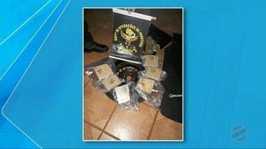 DOF apreende 100 gramas de cocaína em pneu, MS - O jovem foi preso e encaminhado à Delegacia Especializada de Repressão aos Crimes de Fronteira (Defron), em Dourados.