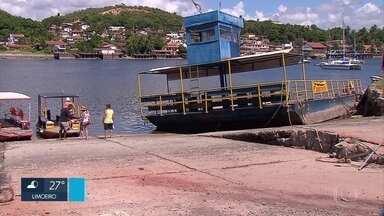 Balsa que faz travessia entre Paulista e Igarassu pelo Rio Timbó está parada - Moradores, comerciantes e turistas da Praia de Maria Farinha estão preocupados com a situação.