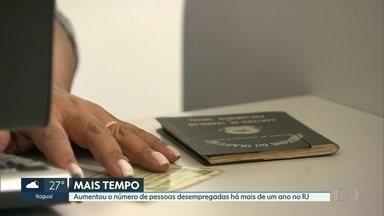Aumenta número de pessoas desempregadas há mais de um ano no Rio de Janeiro - Dos 5 milhões de trabalhadores no país que estão atrás de um lugar no mercado de trabalho há pelo menos um ano, 680 mil estão no Rio de Janeiro.