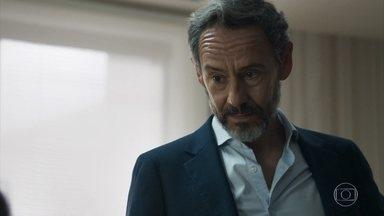 Henrique afirma a Adriana que Nicolau está interessado nela - Bruno conta ao policial que decidiu se entender com Tônia, por conta de seu filho