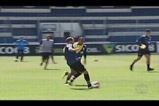 URT se prepara para enfrentar o Tombense em casa pelo Mineiro - Jogo é neste domingo, às 16h, no Estádio Zama Maciel.
